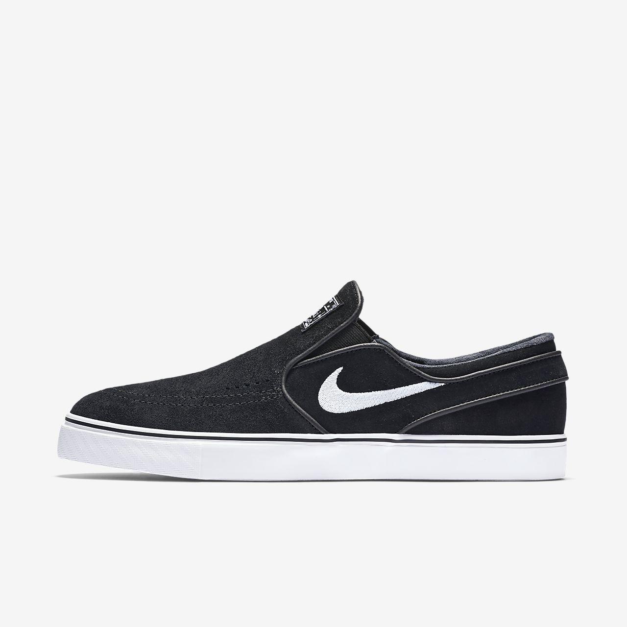 online retailer 09fc4 268df ... Nike SB Zoom Stefan Janoski Slip-On Men s Skateboarding Shoe