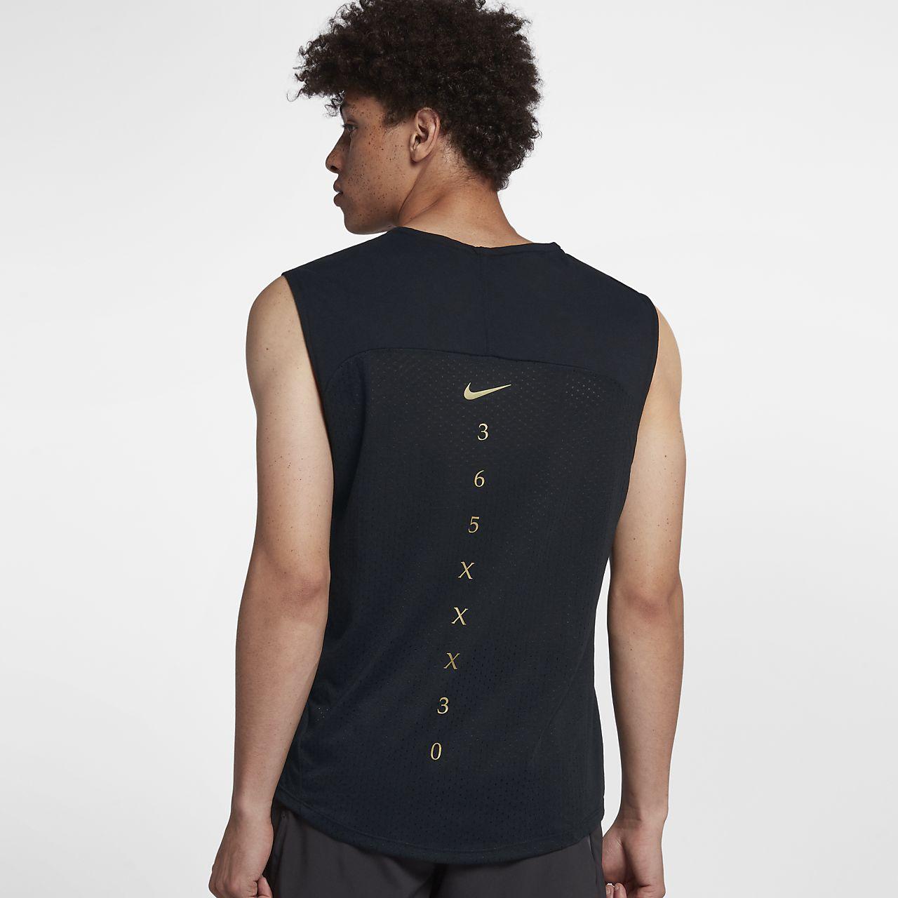 Top de running sin mangas para hombre Nike Rise 365