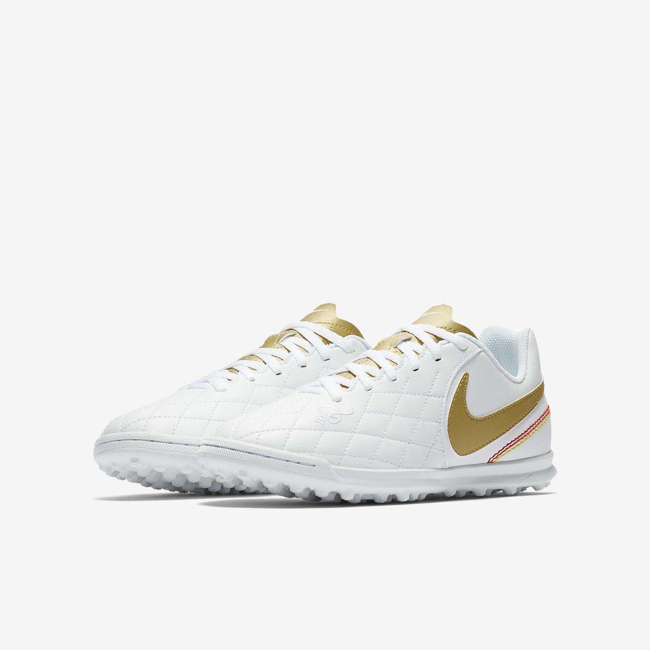 best loved b7297 86485 ... Calzado de fútbol para terreno artificial para niños talla  pequeña/grande Nike Jr. TiempoX