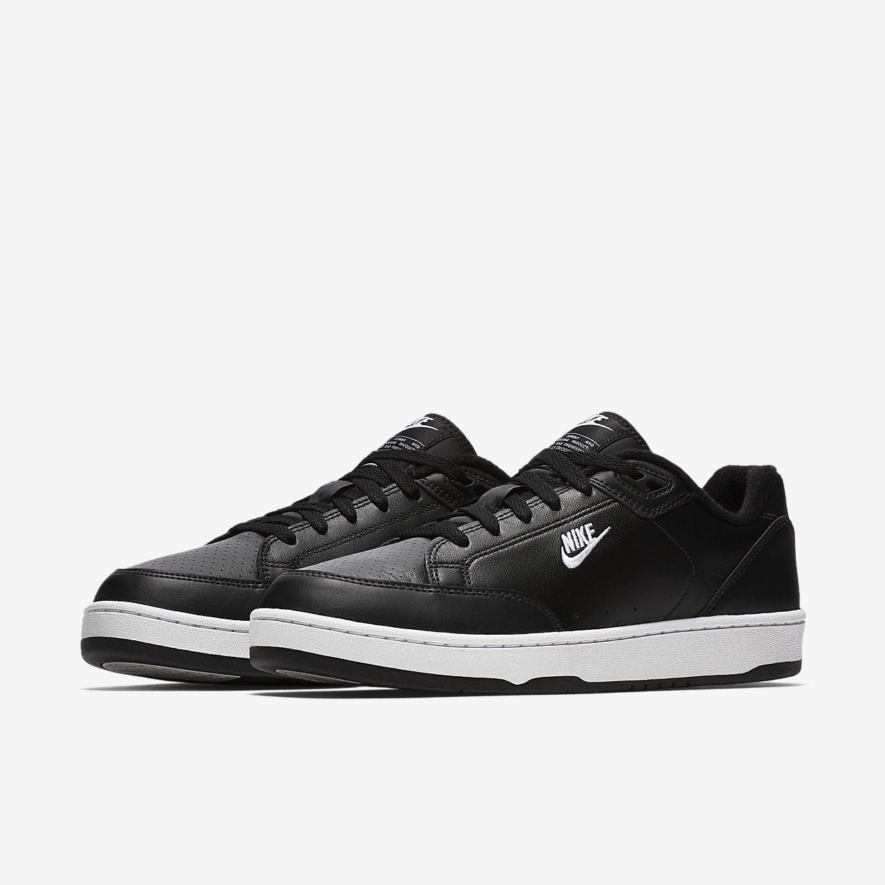 Nike Sportswear GRANDSTAND II - Trainers - black/white/neutral grey UGO06zQJMN