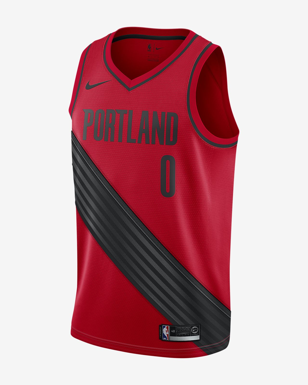 Men s Nike NBA Connected Jersey. Damian Lillard Statement Edition Swingman (Portland  Trail Blazers) fdccee69a