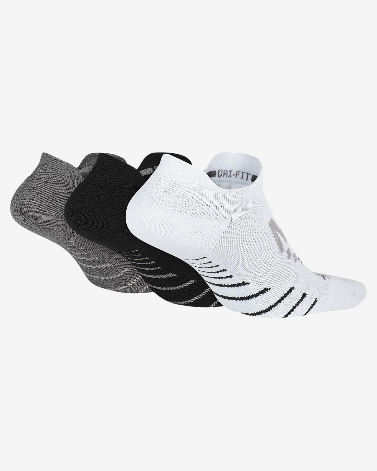42b02d16dd Clothing Boys NIKE Kids Everyday Max Cushion No-Show Socks 3 Pairs