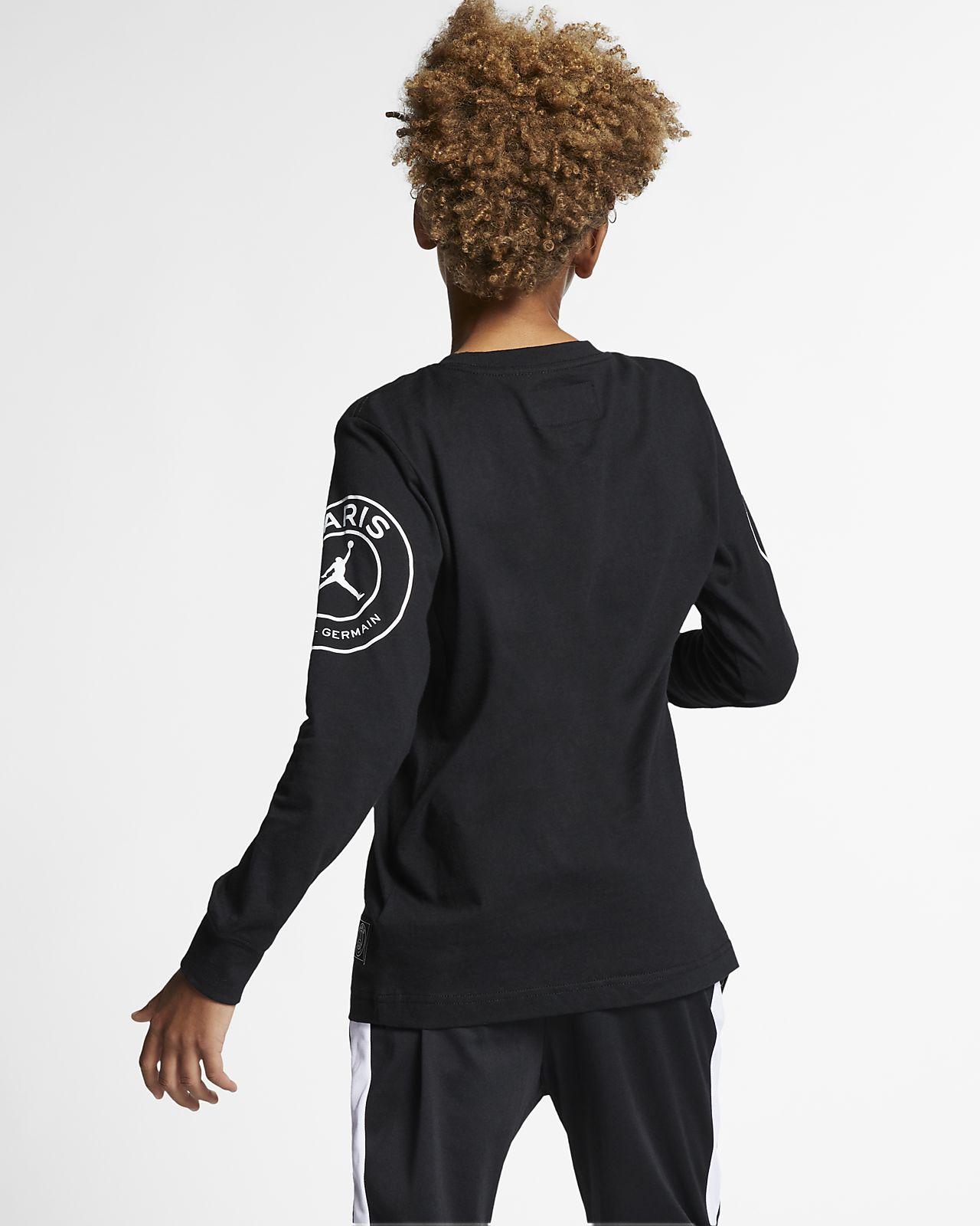 feec058e PSG Older Kids' (Boys') Long-Sleeve T-Shirt. Nike.com GB