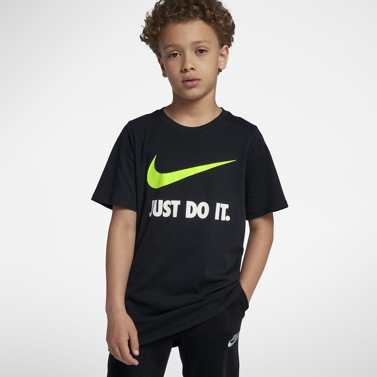 T shirt Nike Just Do It Swoosh Ragazzo