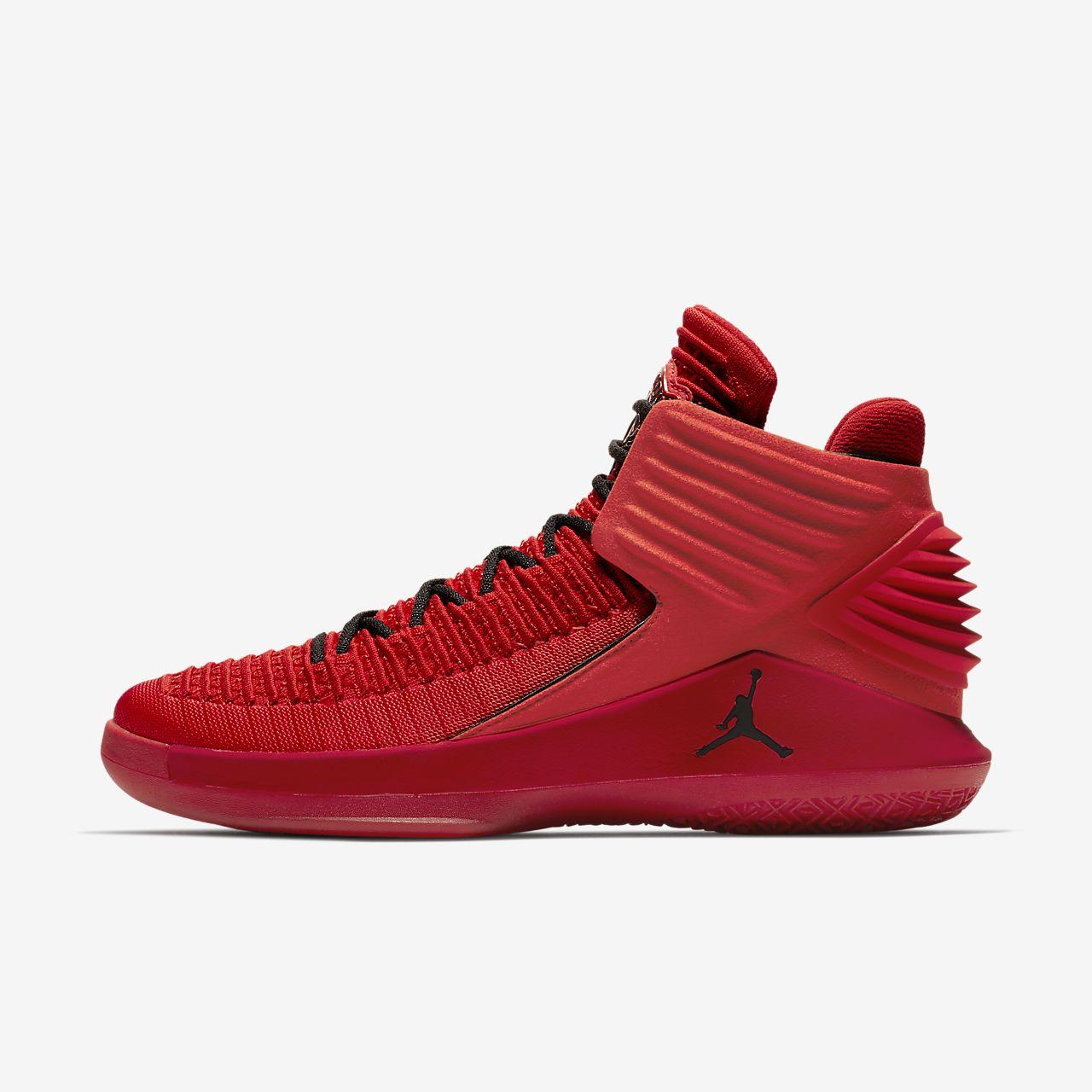 the latest 4783a e64d8 Schwarz Rosso Schuhe Air Jordan 32 Xxxii Corsa Aa1253 601 Basketball Gym Rot
