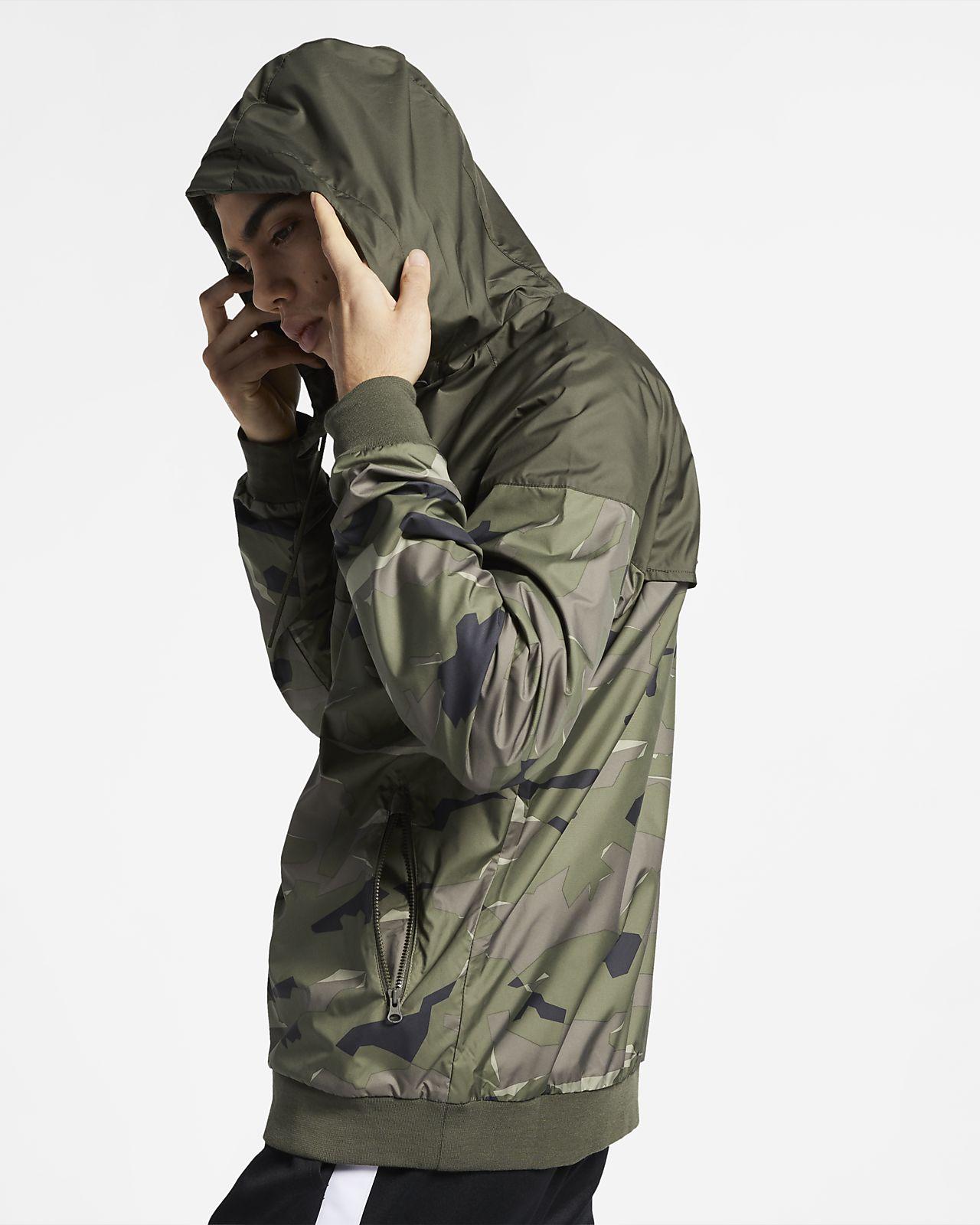sale retailer 62efa 9da5f ... Jacka Nike Sportswear Windrunner med kamouflagemönster för män