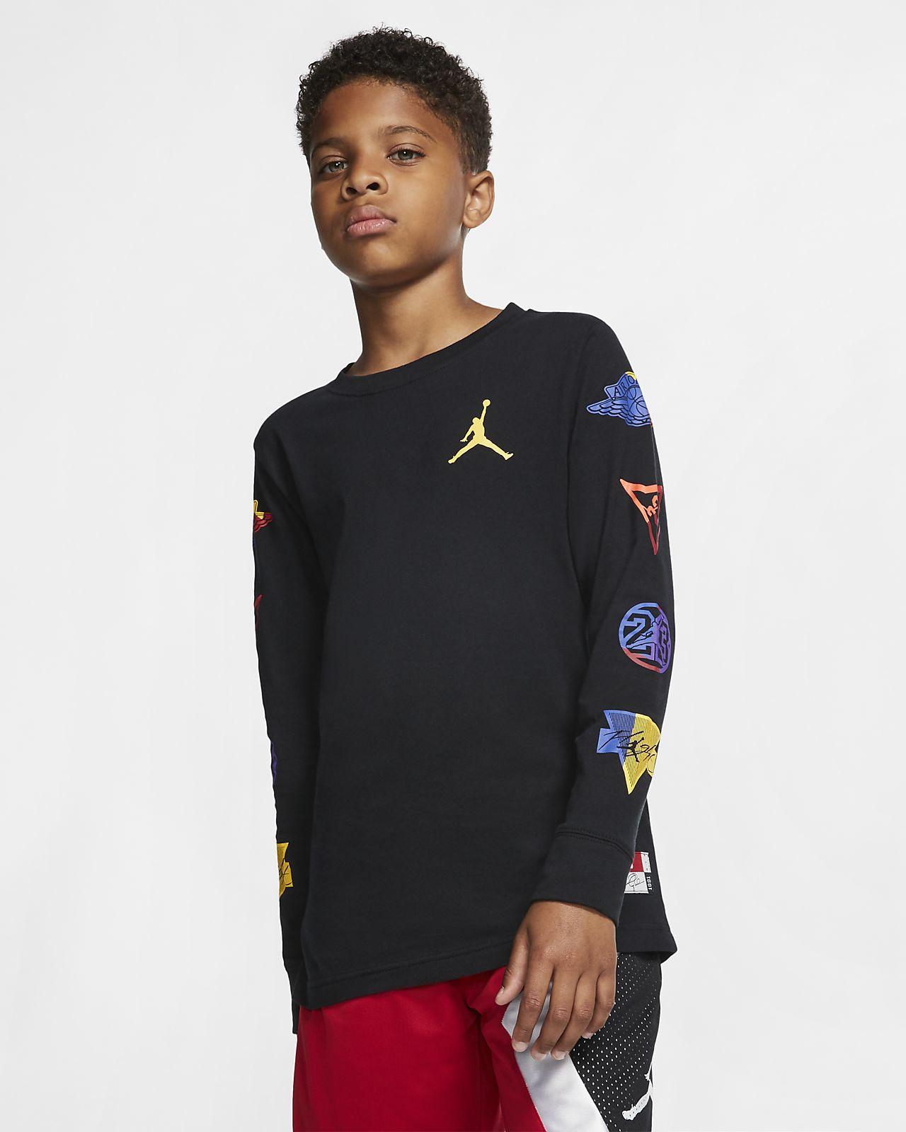 Jordan Jumpman Camiseta de manga larga - Niño