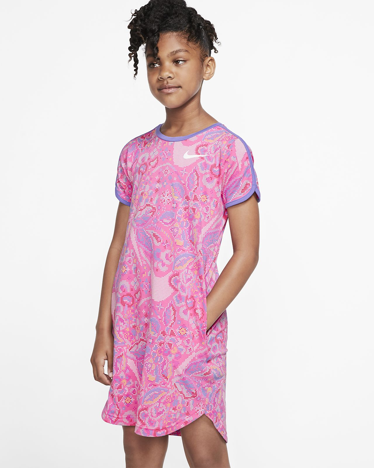 Nike Sportswear Jurk met Swoosh voor meisjes