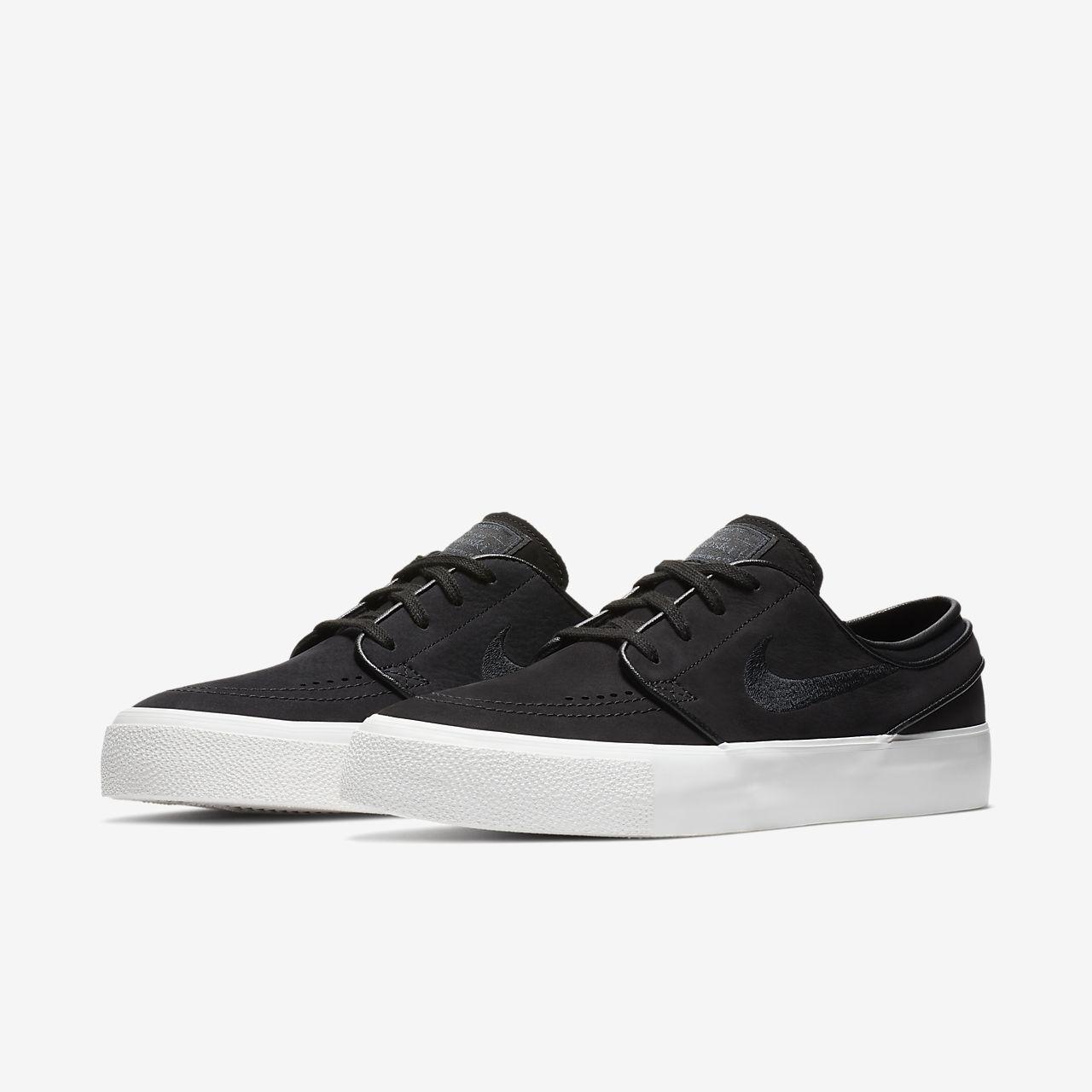 New Men's Nike SB Zoom Stefan Janoski CNVS Size 10 Grey Light Bone Skate Shoes