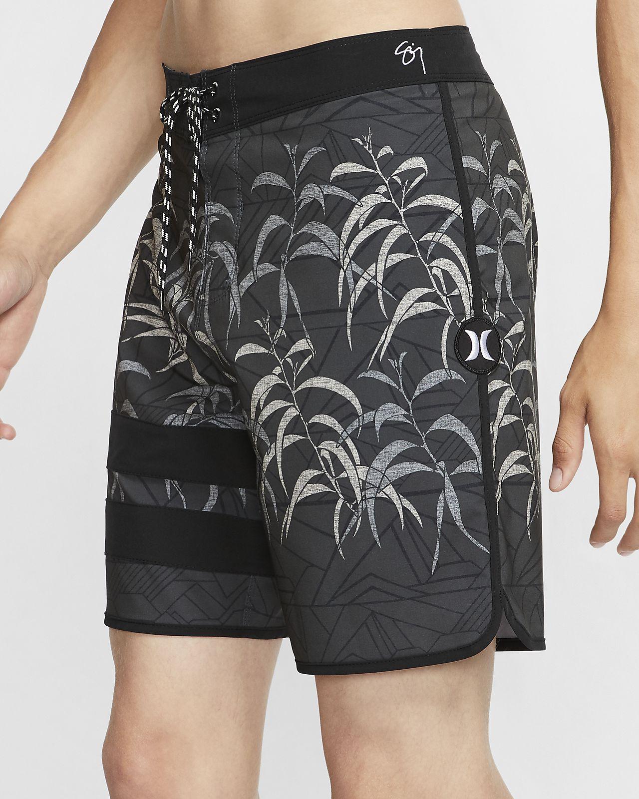 Shorts de playa de 46 cm para hombre Hurley Phantom Sig Zane Kalaukoa