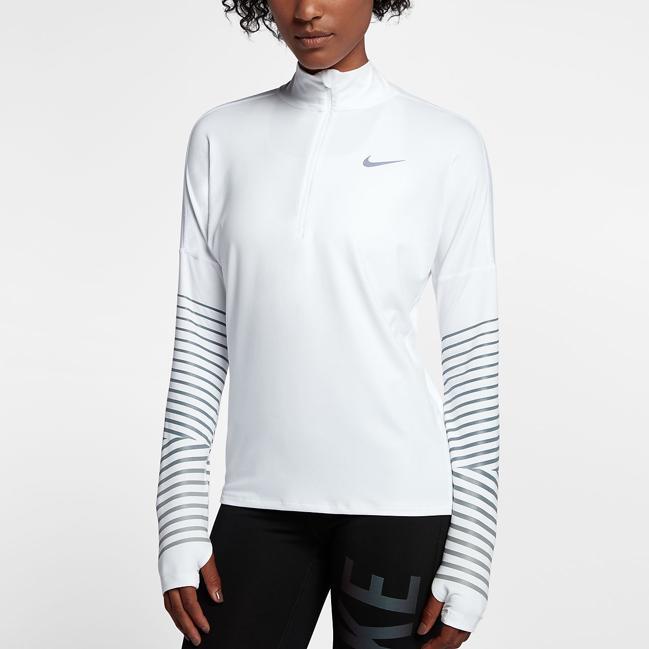 ... Nike Dri-FIT Element Flash Women's Reflective Long-Sleeve Running Top