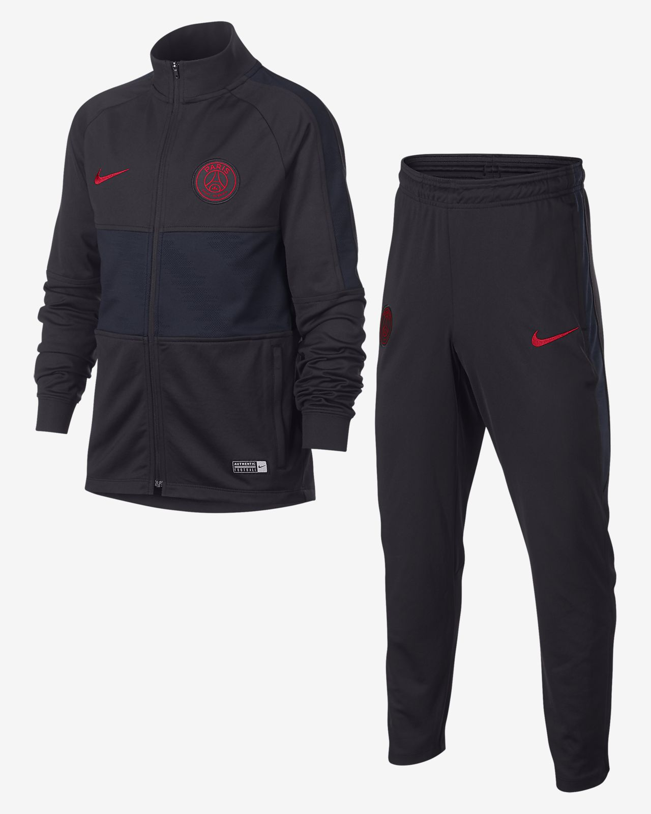 Dres piłkarski dla dużych dzieci Nike Dri-FIT Paris Saint-Germain Strike