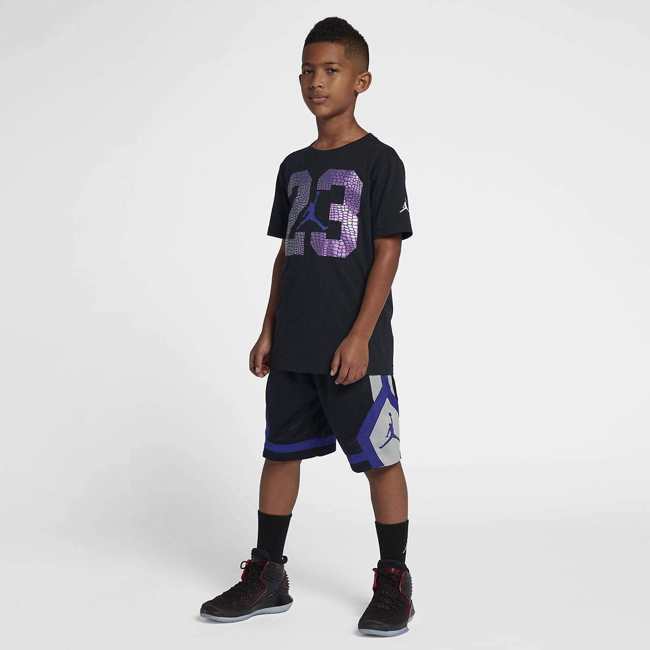 063e13b345608a Jordan Rise Diamond Older Kids  (Boys ) Shorts. Nike.com GB