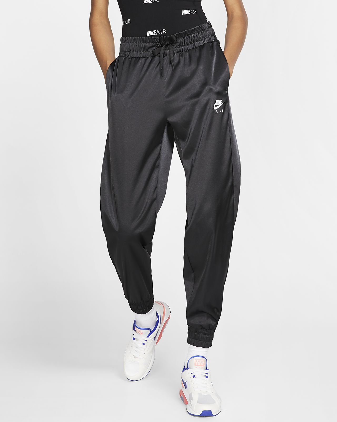 dependable performance wide selection of colours and designs outlet for sale Nike Air Women's Satin Tracksuit Bottoms