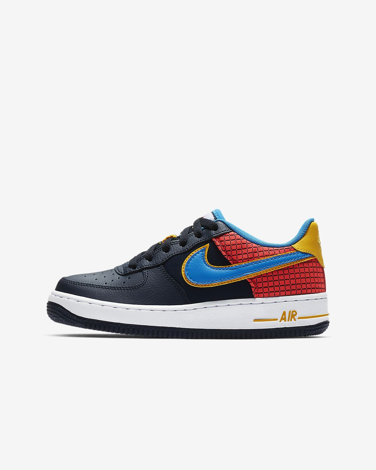best sneakers f7a37 37e9e ... Nike Air Force 1 Now Big Kids  Shoe