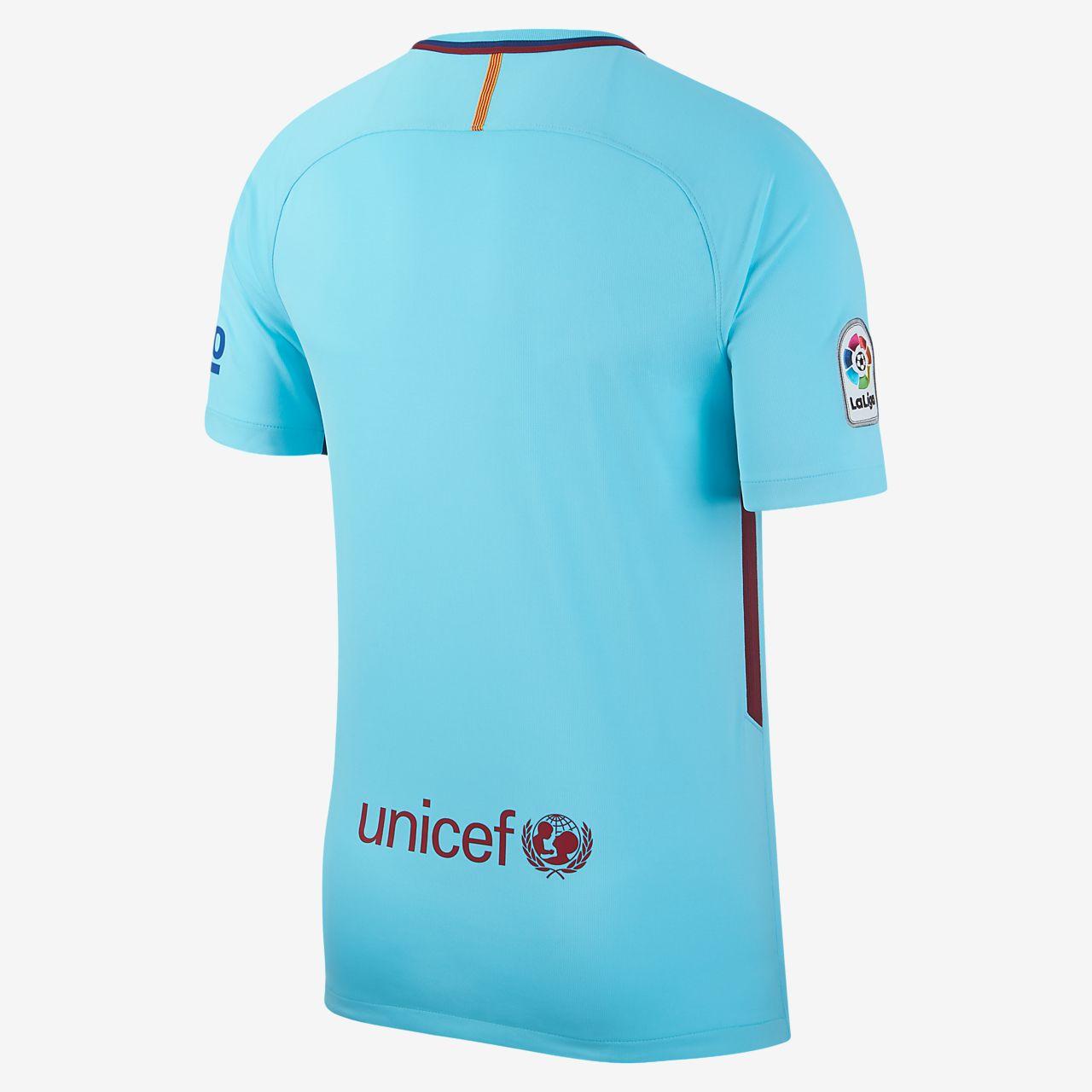 ... 2017/18 FC Barcelona Stadium Away Men's Football Shirt