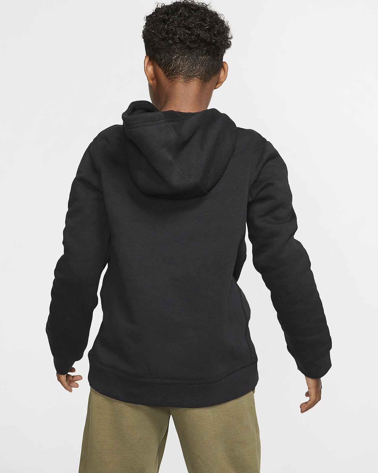 Nike Sportswear Older Kids' (Boys') Camo Pullover Hoodie