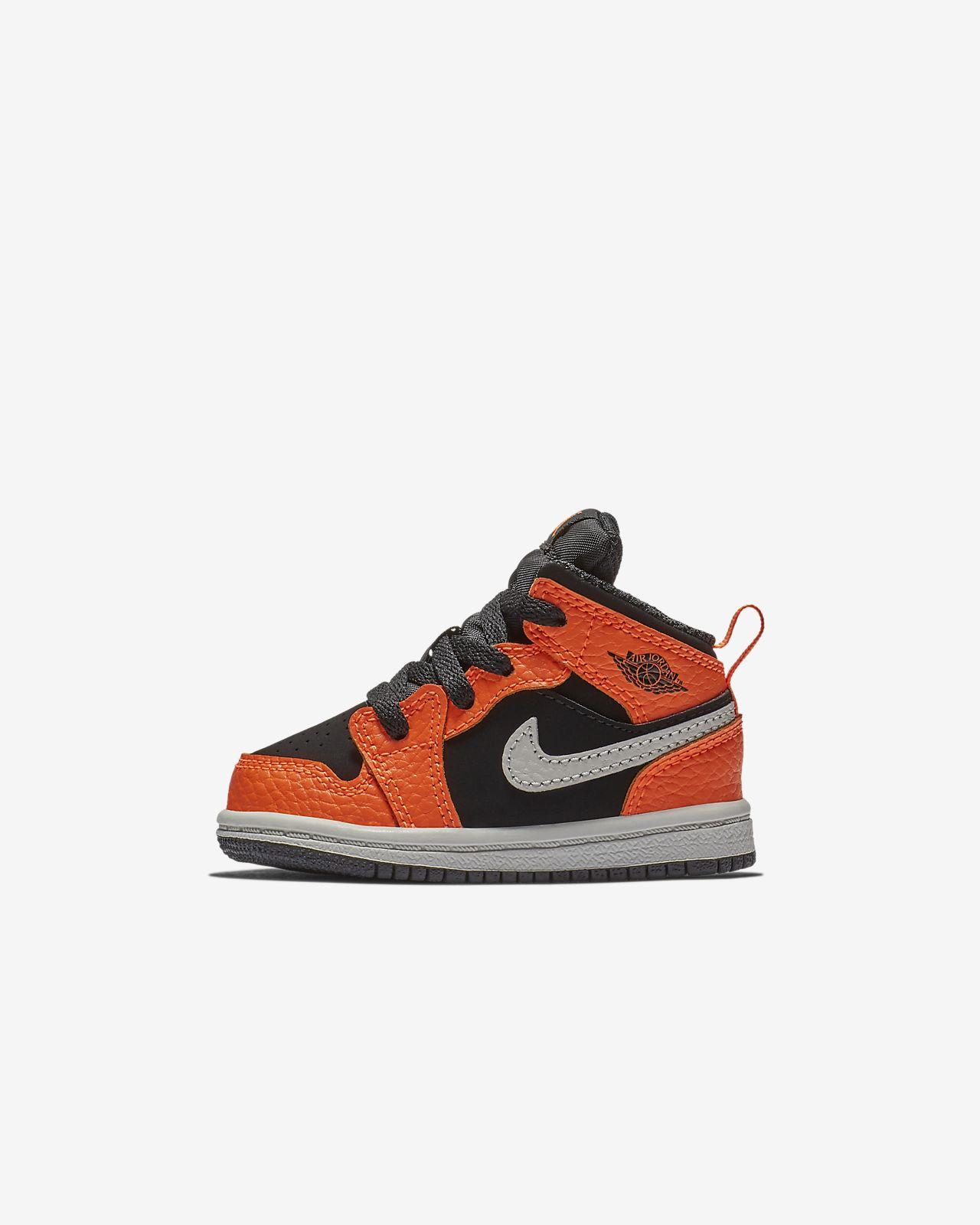 Air Jordan 1 Mid Infant Toddler Shoe. Nike.com 6d6c7628f