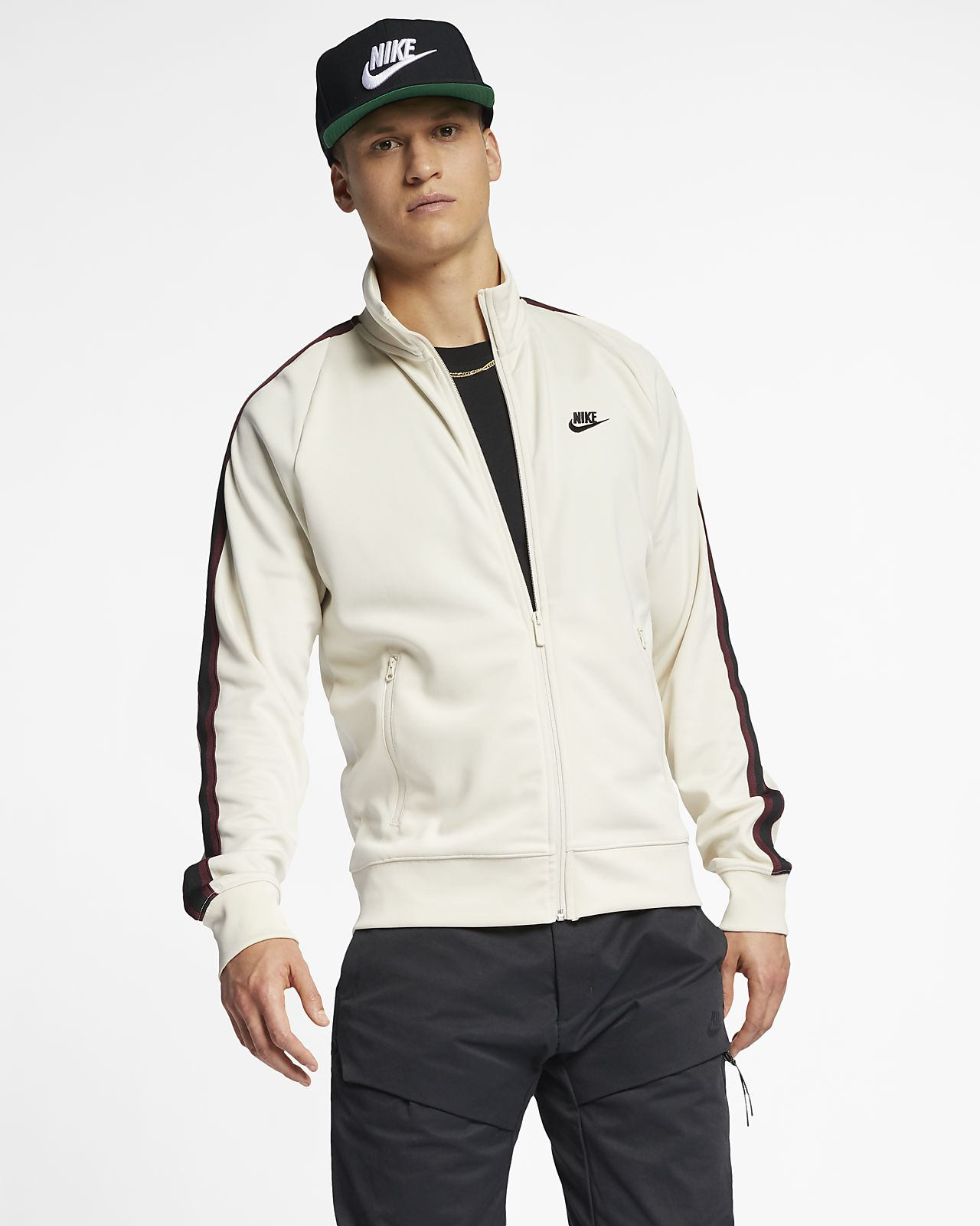 d124fa1d1aaa Nike Sportswear N98 Men s Knit Warm-Up Jacket. Nike.com LU