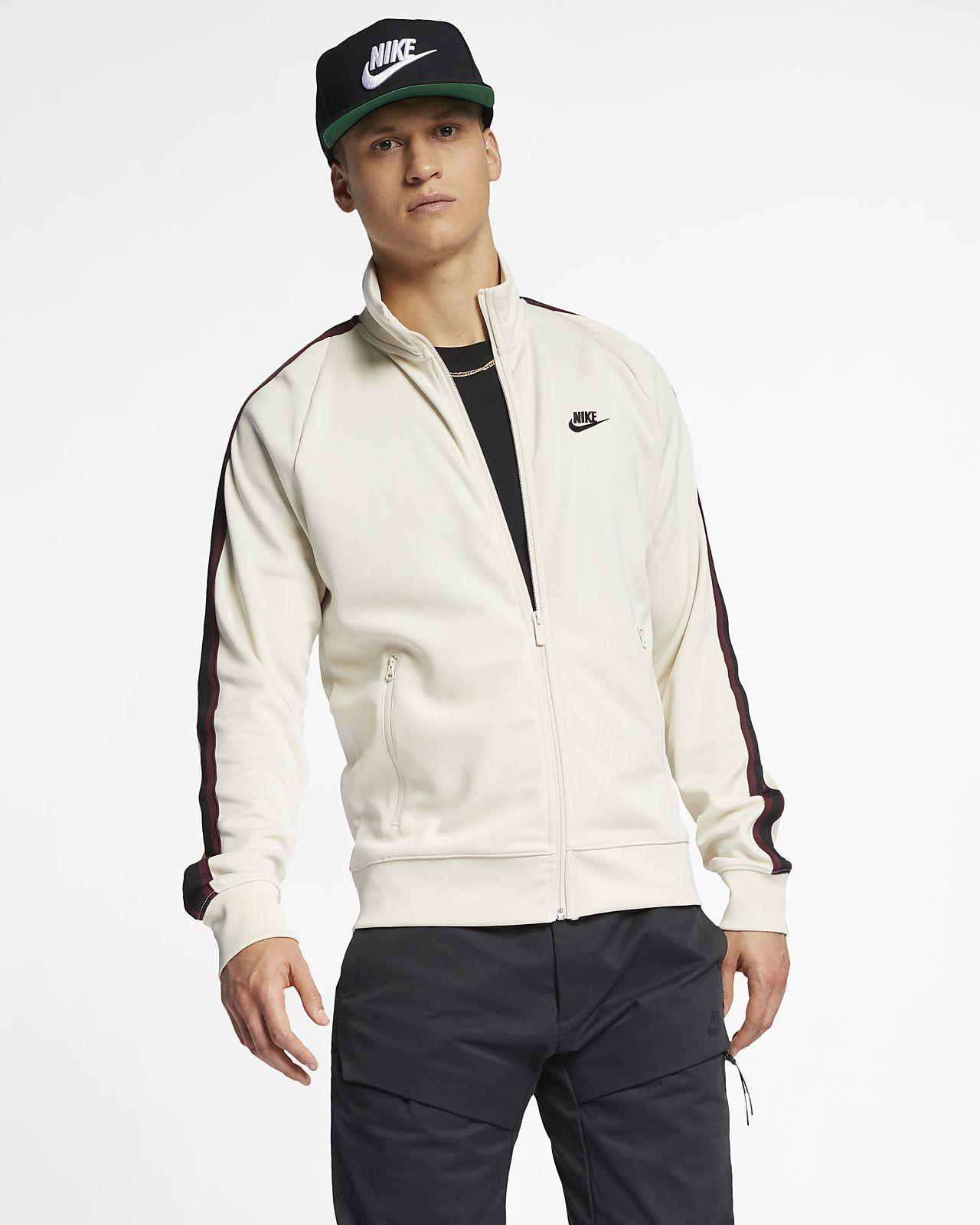 762cdbe7 Nike Sportswear N98 Men's Knit Warm-Up Jacket. Nike.com