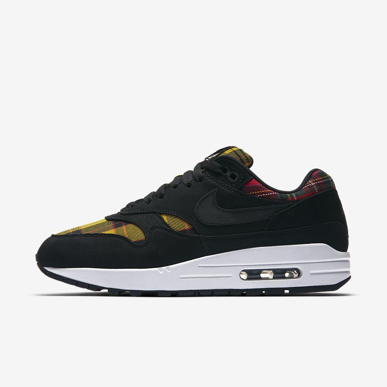 brand new 57a84 17718 ... promo code for nike air max 1 se tartan sko til kvinder 4029e abd91