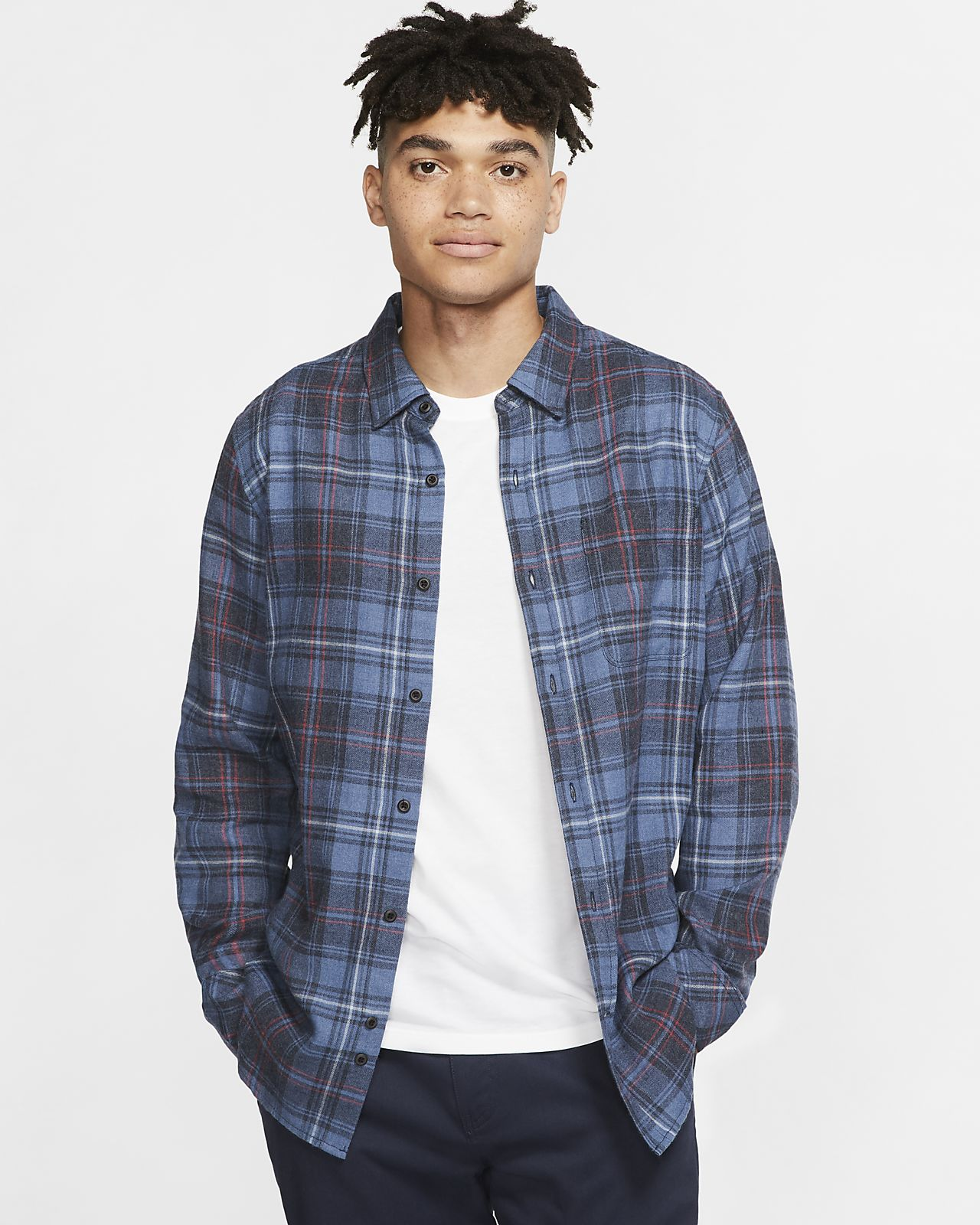 Haut à manches longues Hurley Vedder Washed pour Homme