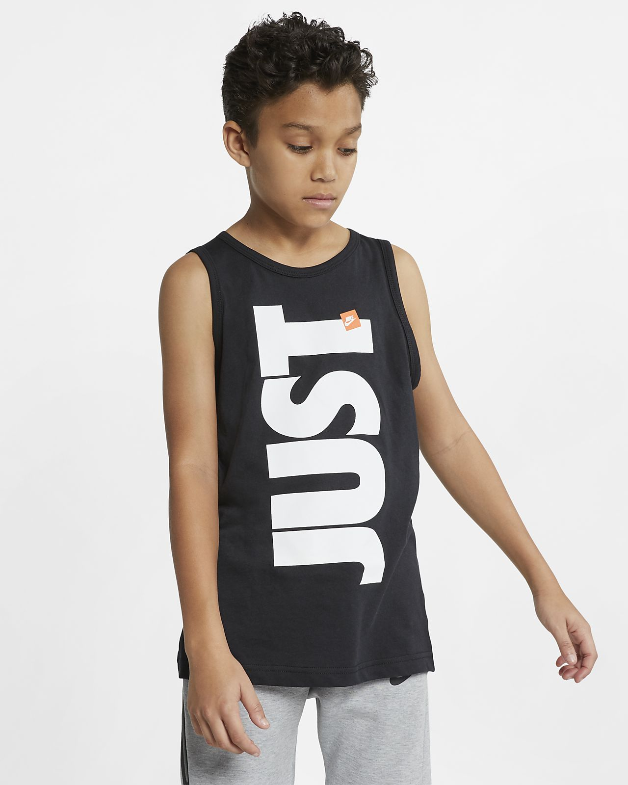 Nike Sportswear Just Do It Older Kids' (Boys') Tank
