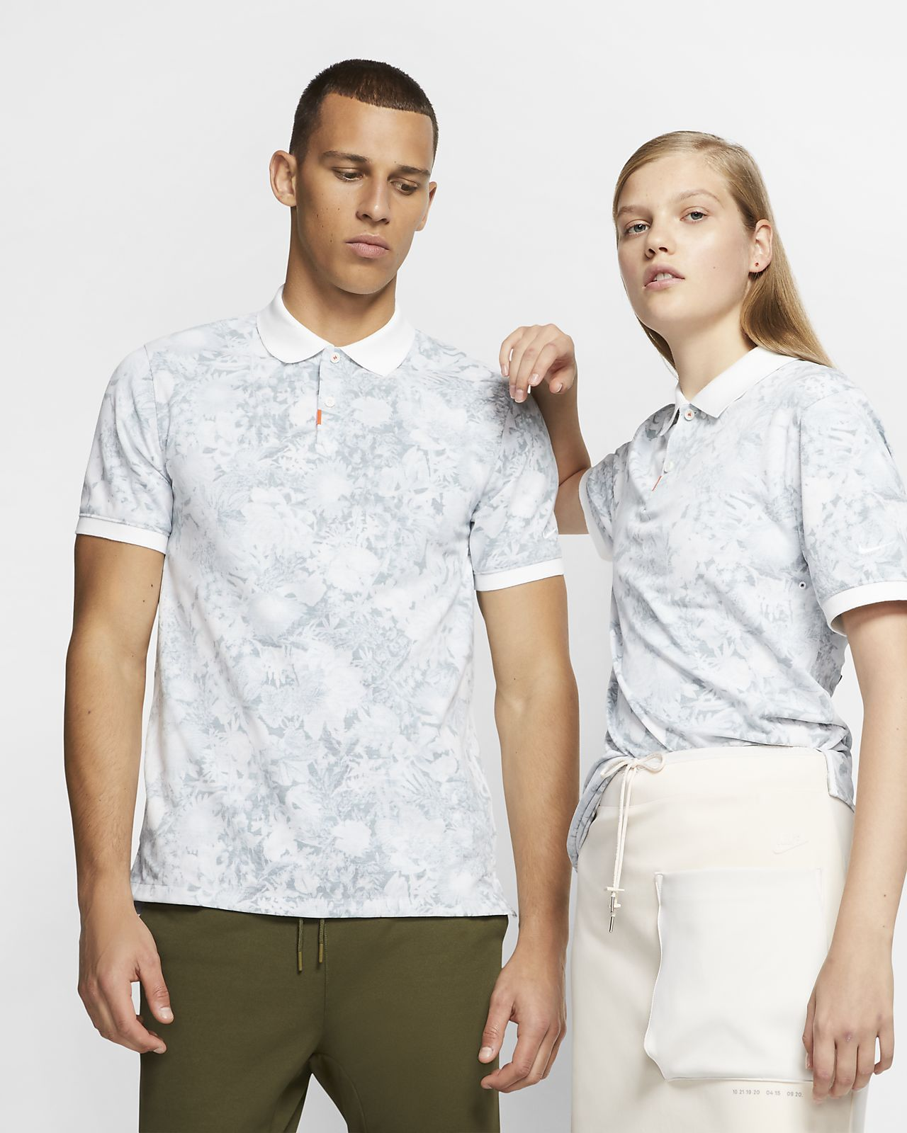 Polo com estampado floral The Nike Polo unissexo
