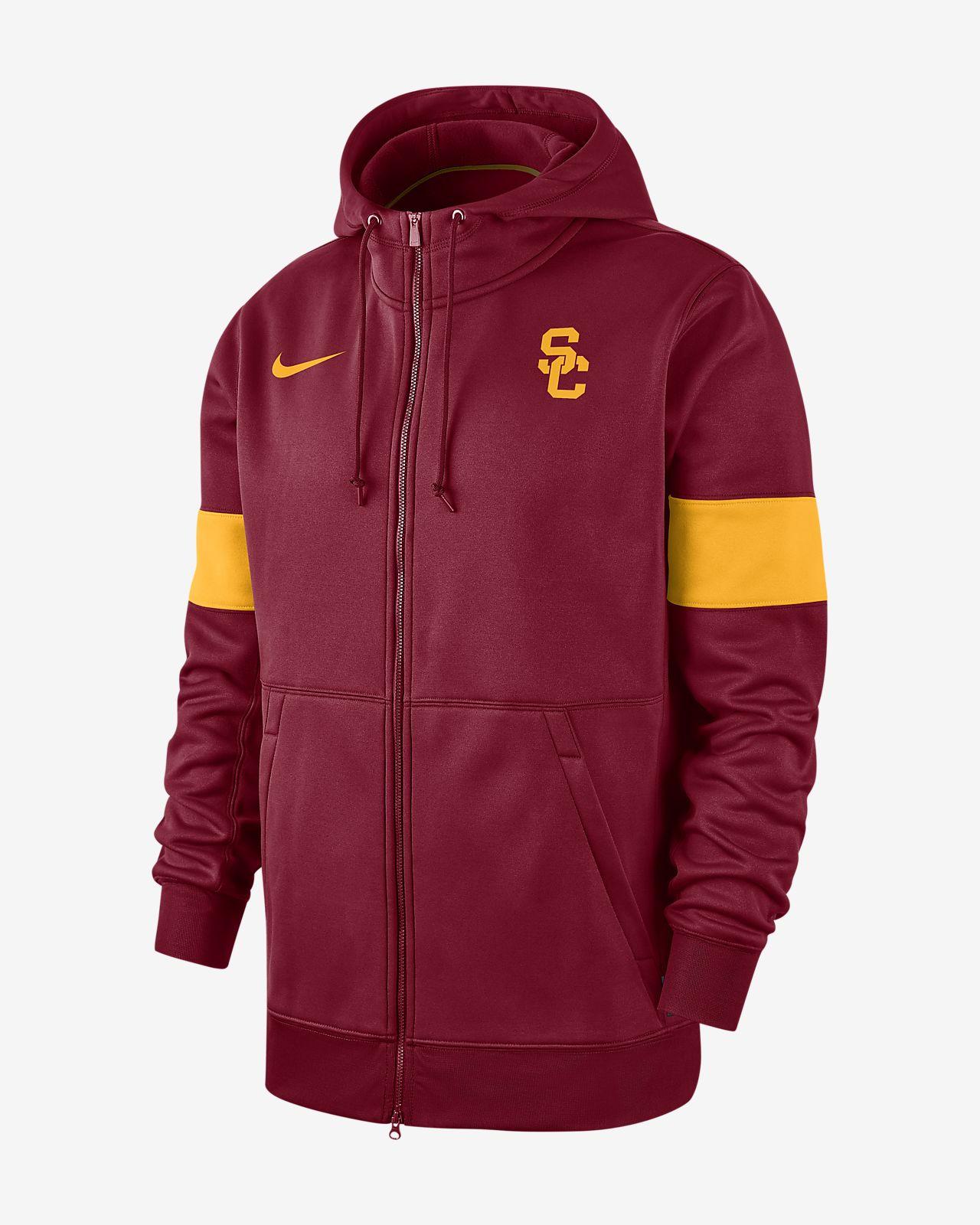 Nike College Therma (USC) Men's Full-Zip Hoodie