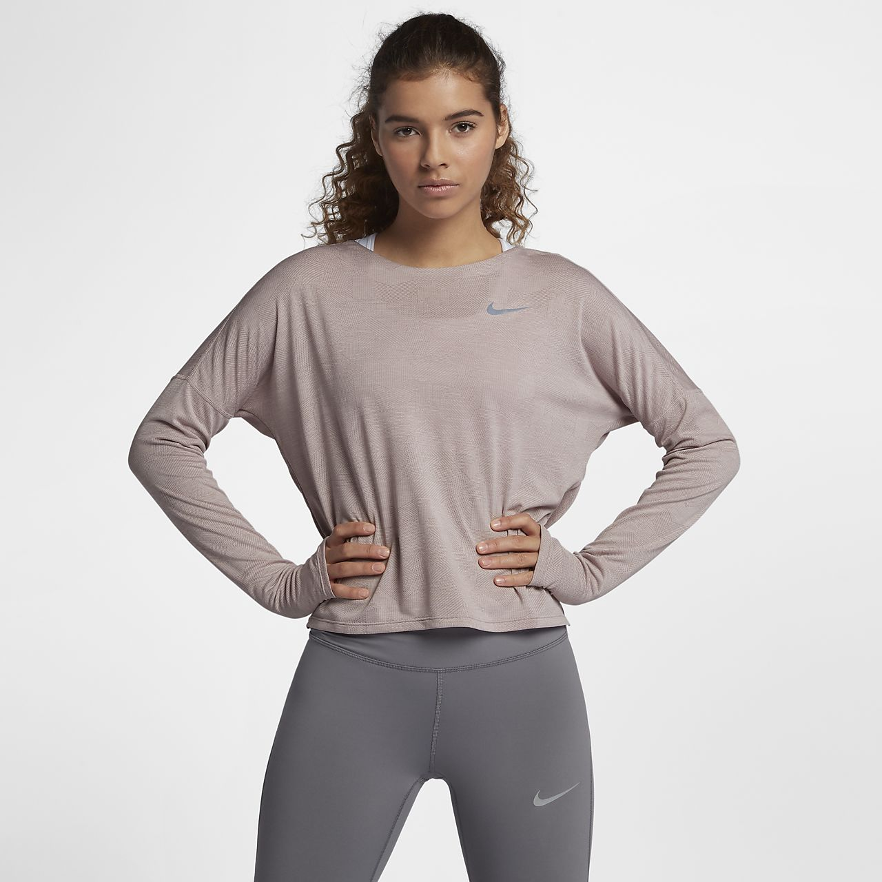 ... Nike Dri-FIT Medalist Women's Long-Sleeve Running Top
