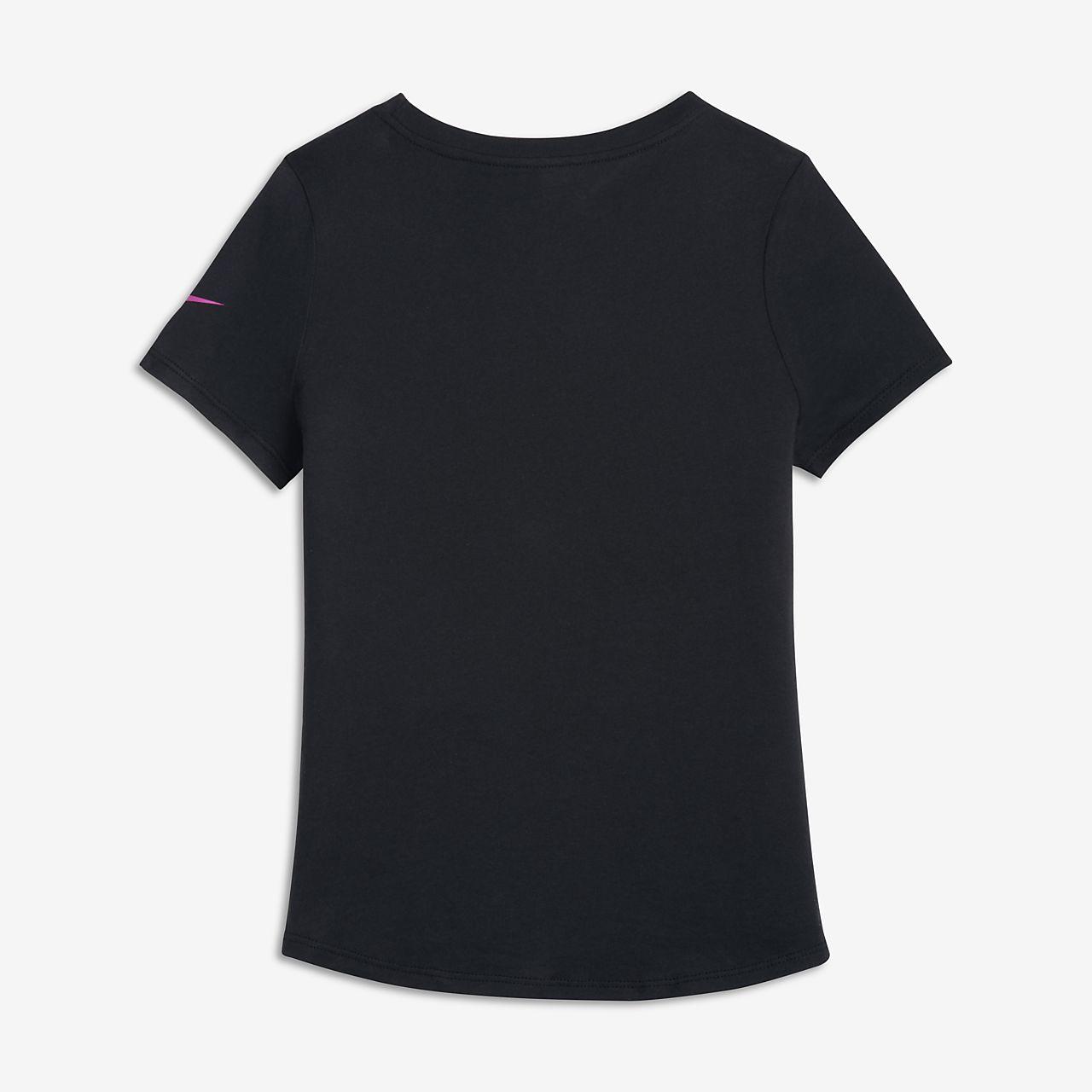 nike sportswear t shirt f r ltere kinder m dchen at. Black Bedroom Furniture Sets. Home Design Ideas