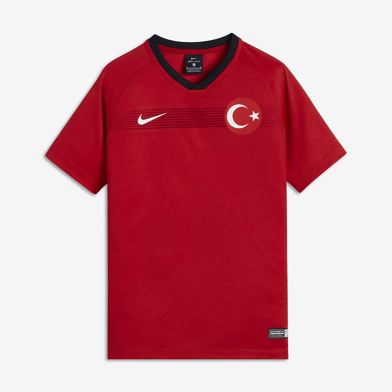 Maillot de football 2018 Turkey Stadium Home pour Enfant plus âgé