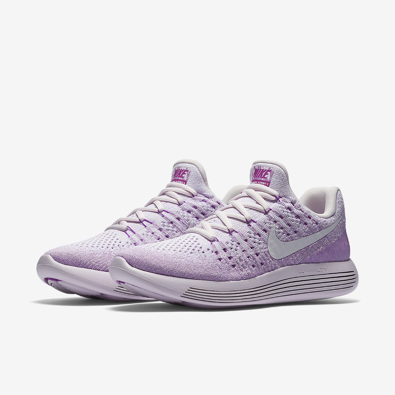 Nike W Nike Lunarepic Low Flyknit Violeta lBk26FN