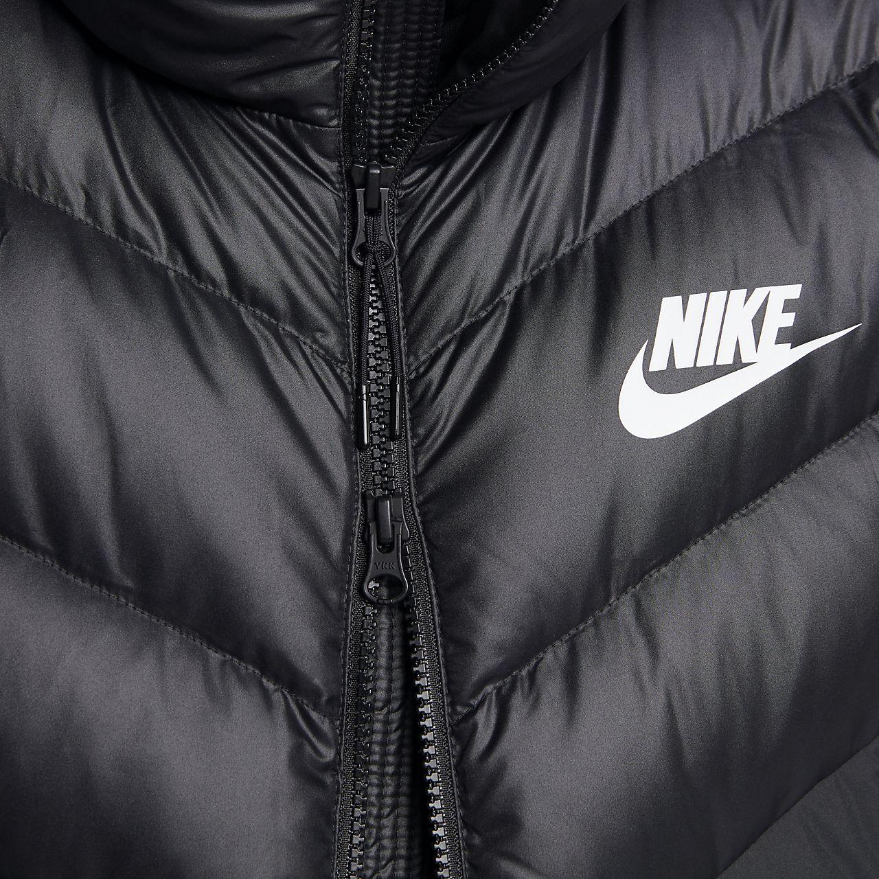 20aab37317 Giacca con cappuccio in piumino Nike Sportswear Windrunner Down Fill - Uomo