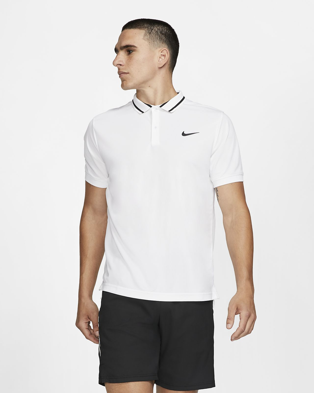NikeCourt Dri-FIT Tennispolo voor heren