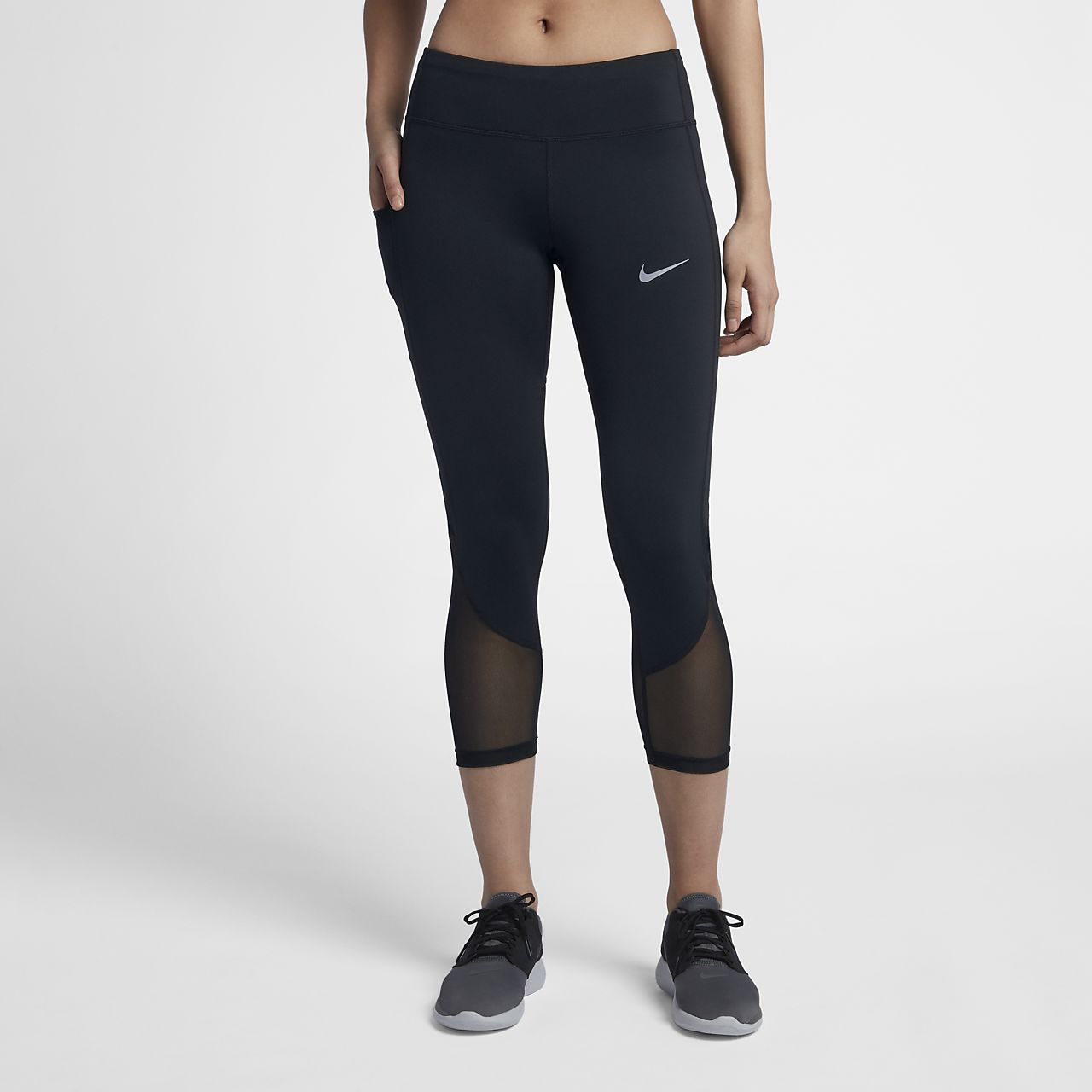 ff3e8a16d7b4 Γυναικείο μεσοκάβαλο κολάν 3 4 για τρέξιμο Nike Power. Nike.com GR