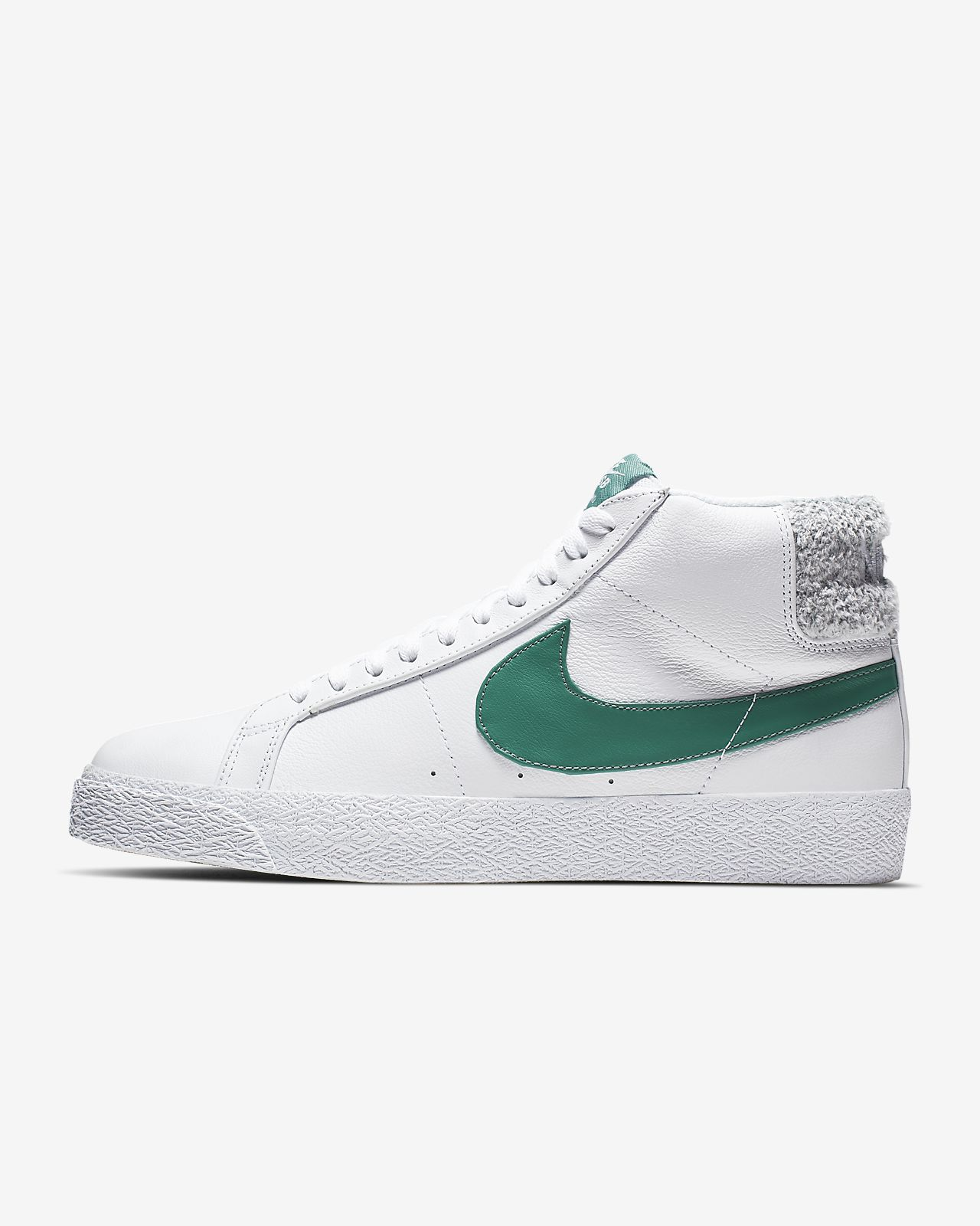 Nike Blazer Low Premium White Green For Sale