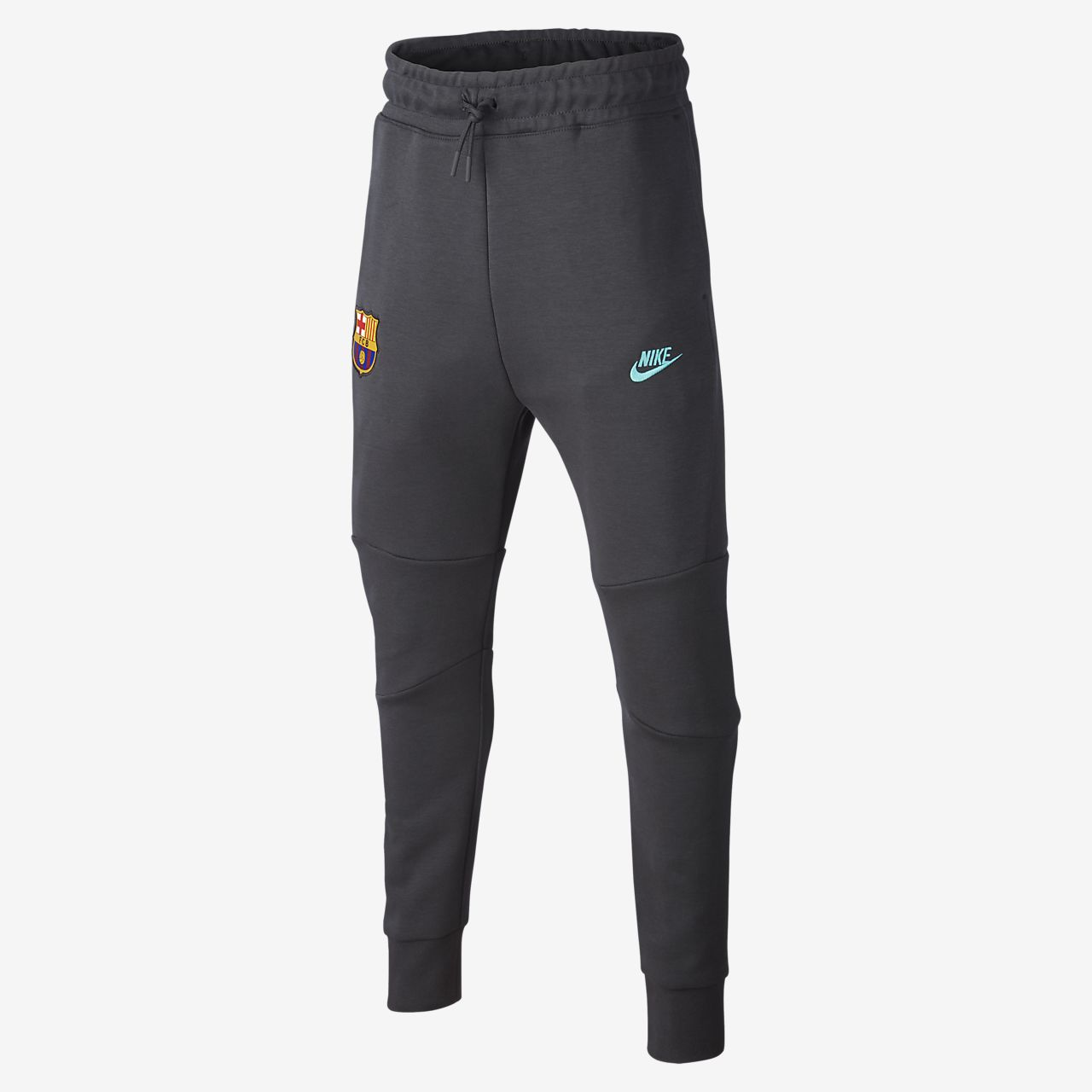 FC Barcelona Tech Fleece Older Kids' Pants