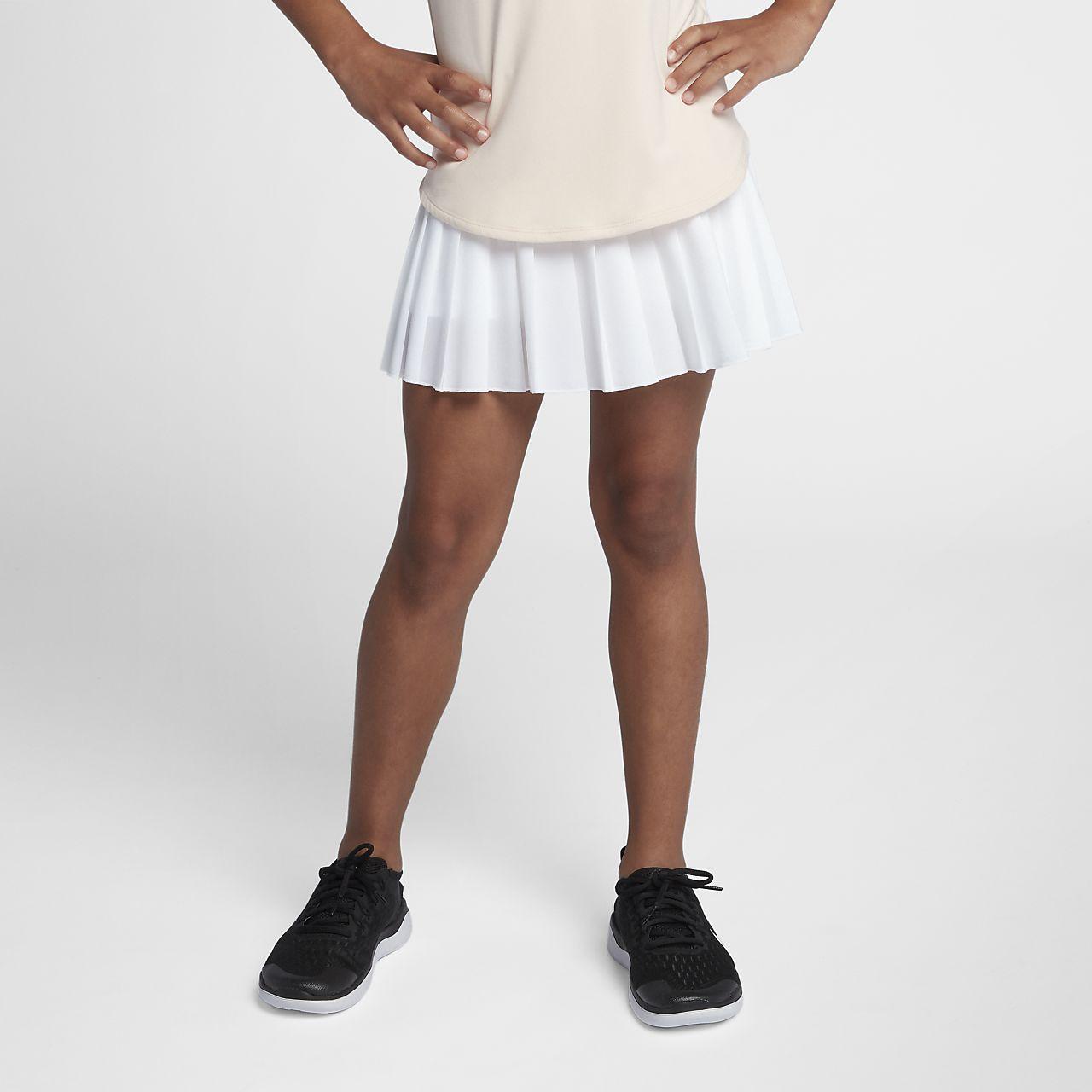 NikeCourt Victory Tennisrock für ältere Kinder (Mädchen)