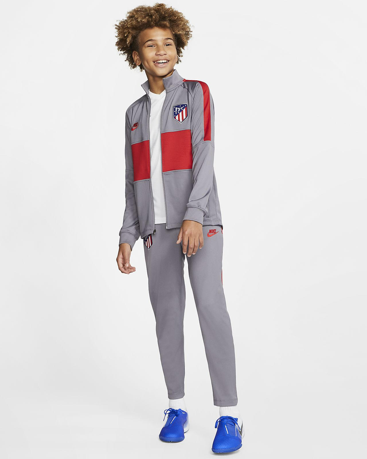 Atlético de Madrid Strike Older Kids' Football Tracksuit