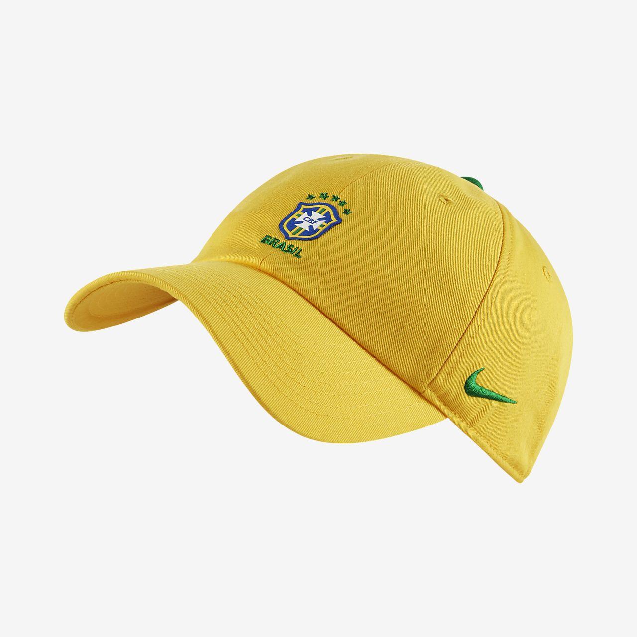 Brasil CBF H86 Core Gorra regulable. Nike.com ES c79b9ae2400