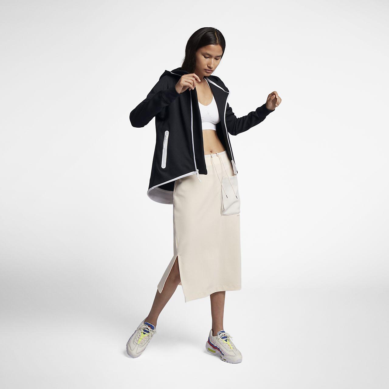 0162ff5a2de7 Nike Sportswear Tech Fleece Women s Full-Zip Cape. Nike.com