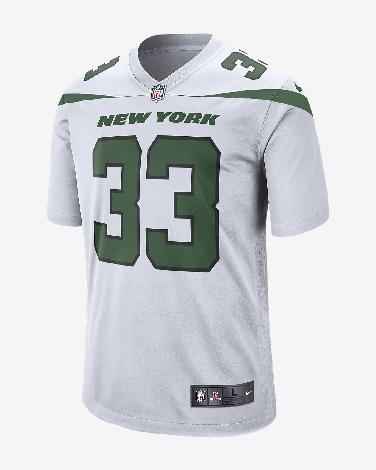 designer fashion e1f06 b0ce7 NFL New York Jets (Jamal Adams) Men's Game Football Jersey
