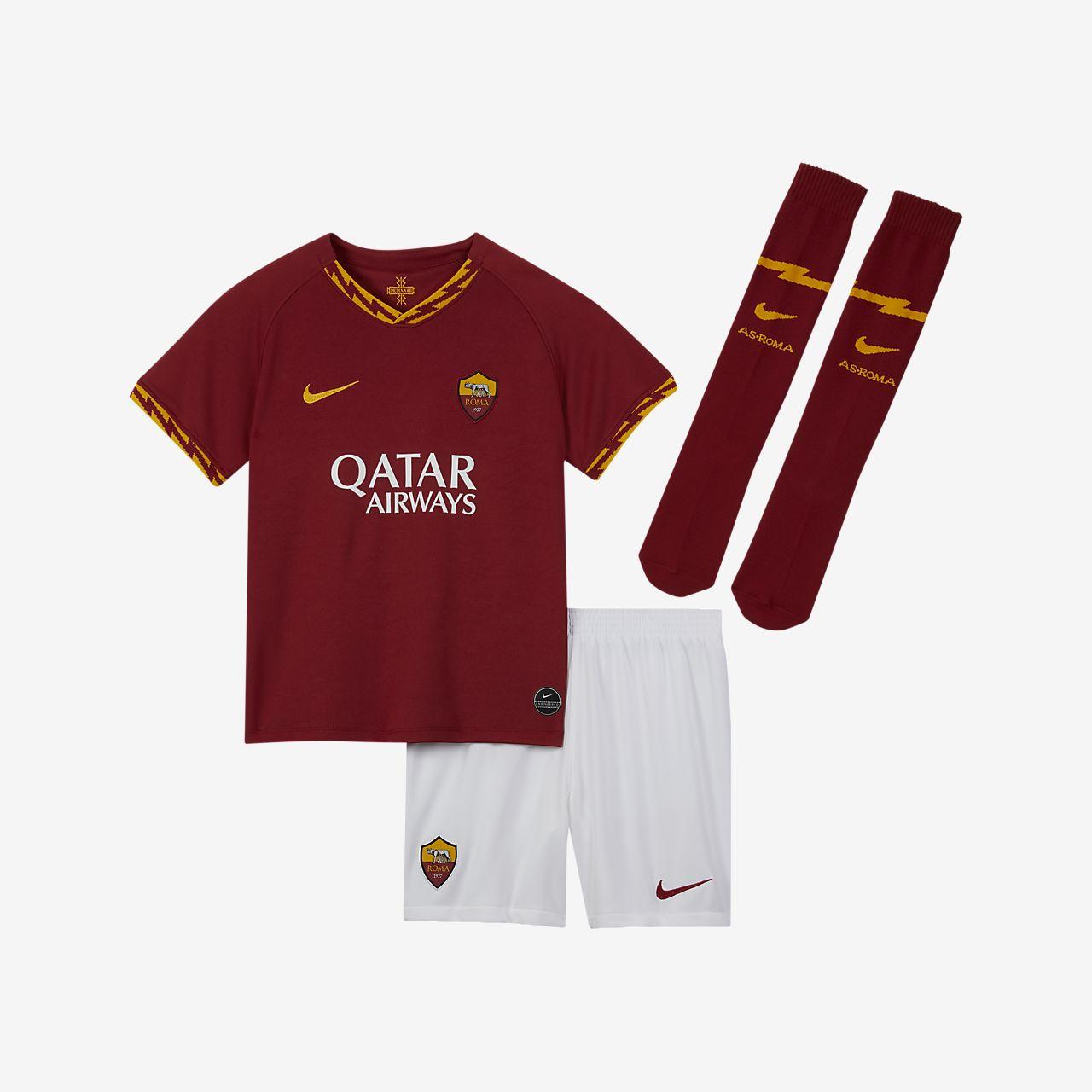A.S. Roma 2019/20 Home Equipació de futbol - Nen/a petit/a