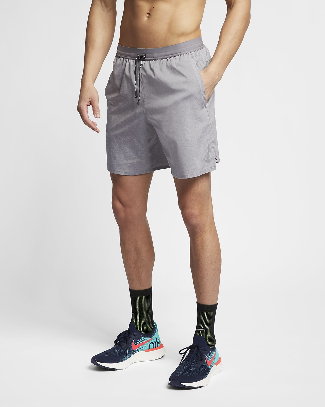 Ανδρικό σορτς για τρέξιμο 2 σε 1 Nike Dri-FIT Flex Stride 18 cm