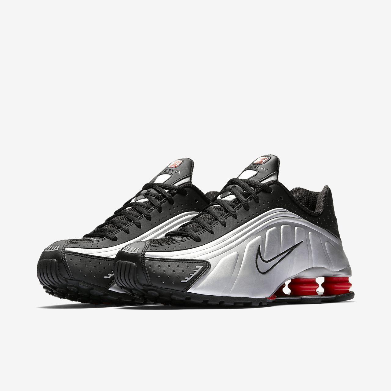 air nike bianche prezzo, Nike Shox R4 Uomo Running Scarpe