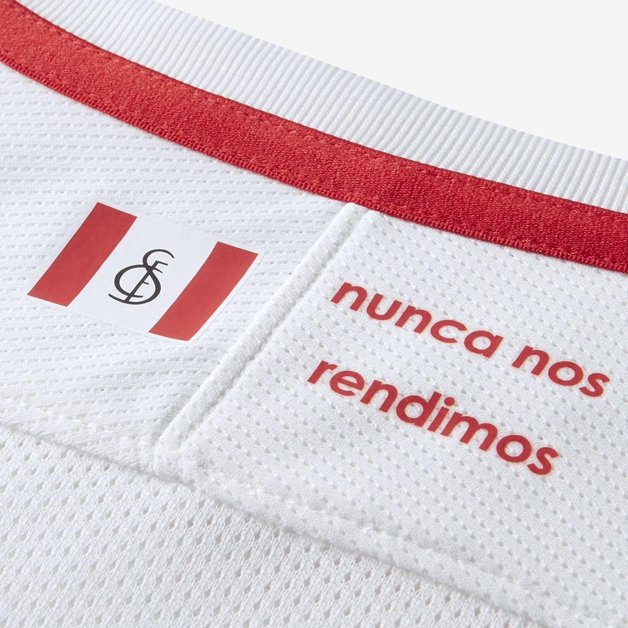 2018 19 Sevilla FC Stadium Kids  Football Shirt. Nike.com IE fdcf58934
