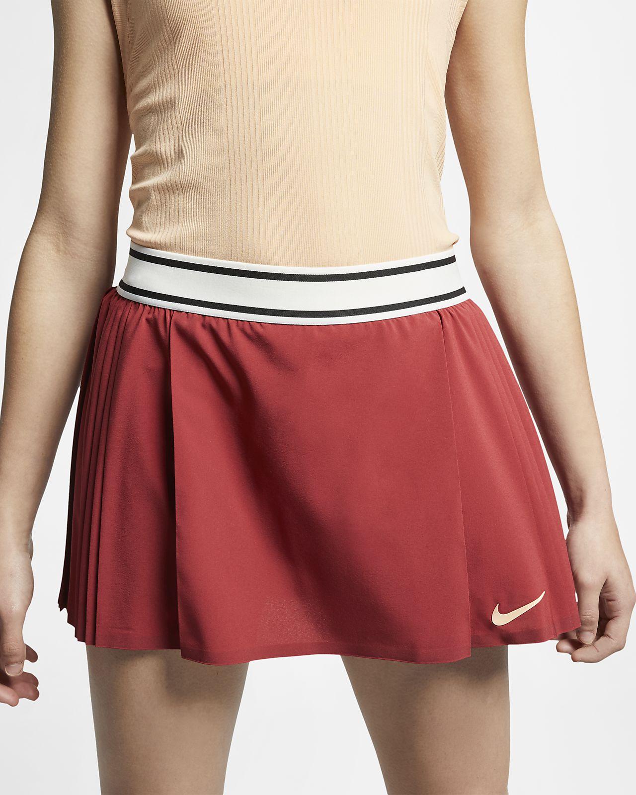 NikeCourt Flex Maria Victory Faldilla de tennis - Dona