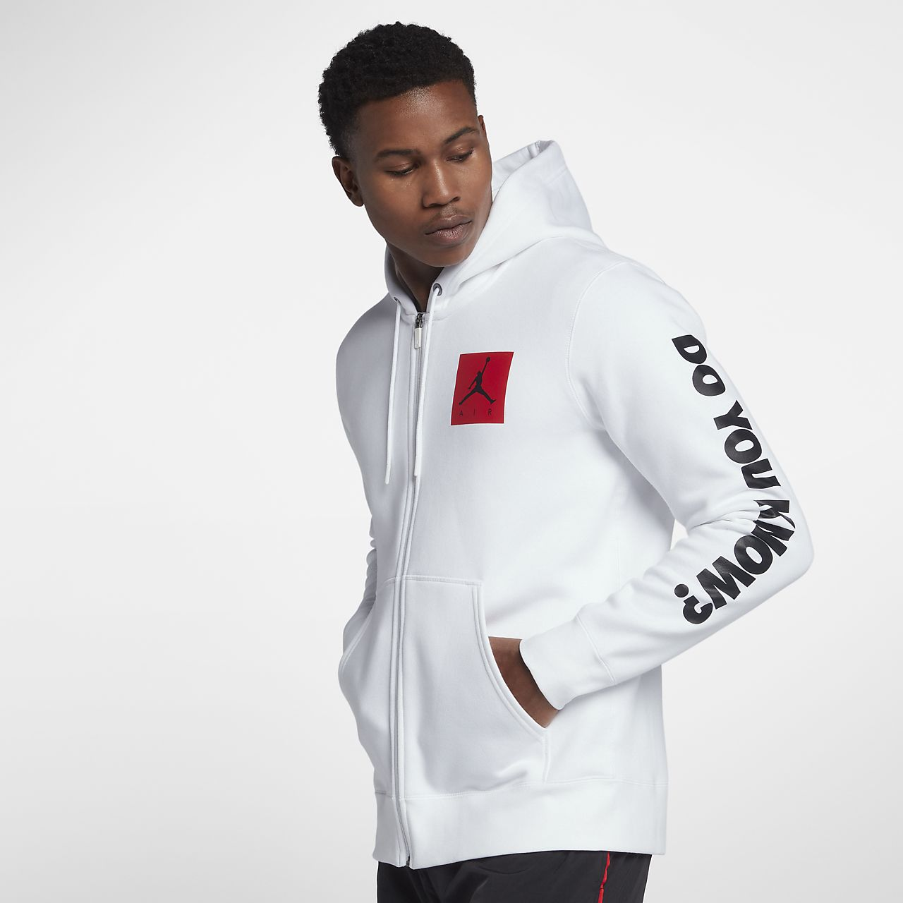 ... Jordan Sportswear AJ 3 Flight Men's Full-Zip Fleece Hoodie