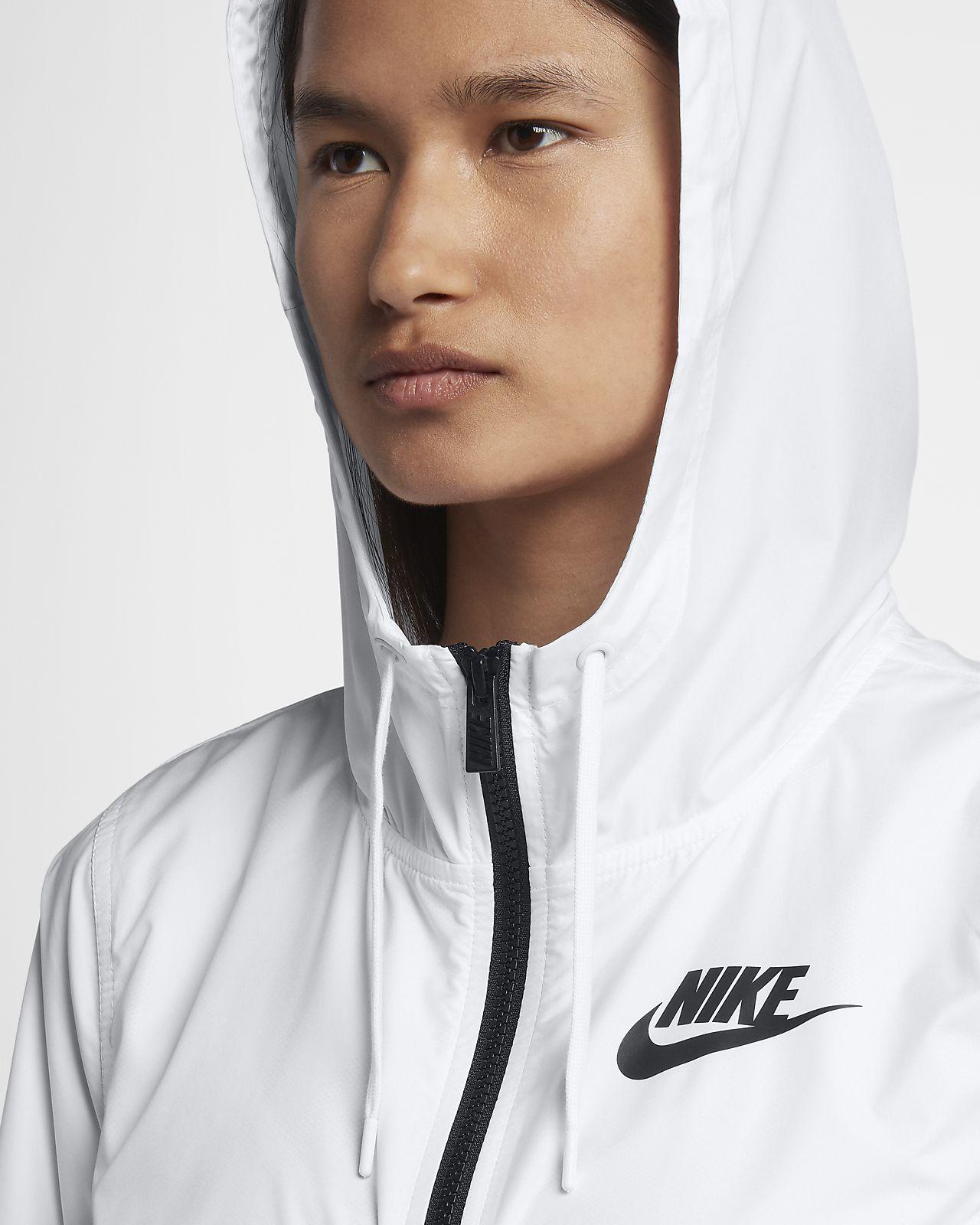 Nike NSW AV15 Jacket Women's Sportswear Jacket Philippines Black White
